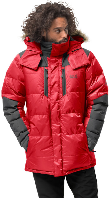 Jack Wolfskin The Cook Parka Herren red lacquer
